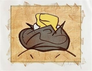 Lithographie Oldenburg - Baked Potatoe With Butter
