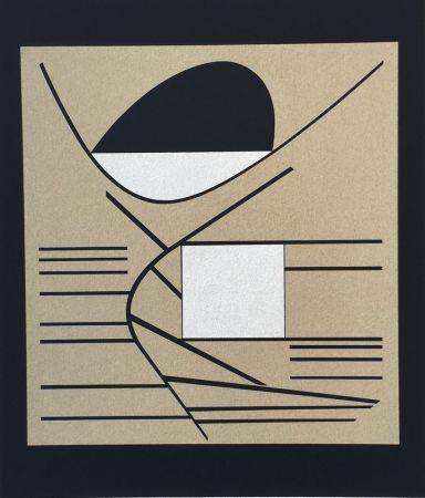Sérigraphie Vasarely - Balaton, from ion Album