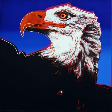Sérigraphie Warhol - Bald Eagle (FS II.296)