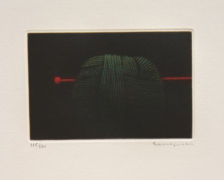 Manière Noire Hamaguchi - Ball of Green Yarn