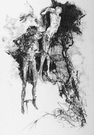 Eau-Forte Vespignani - Ballata degli impiccati