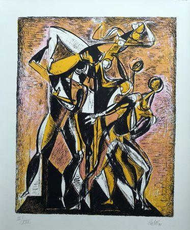 Lithographie Carletti - Balletti 1
