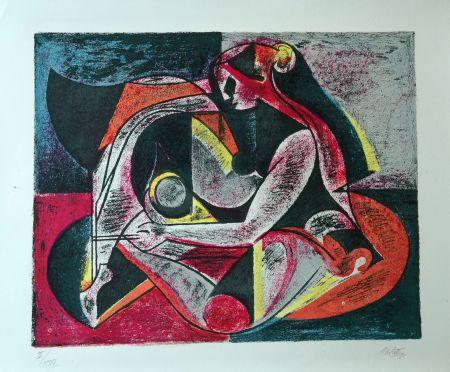 Lithographie Carletti - Balletti 2