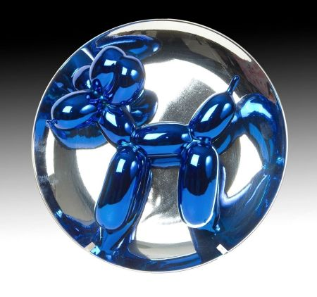 Aucune Technique Koons - Balloon Dog blue