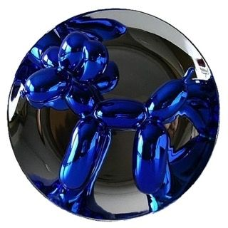 Céramique Koons - Balloon Dog (Blue)