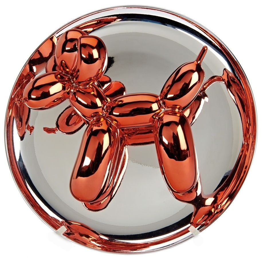 Aucune Technique Koons - Balloon Dog orange