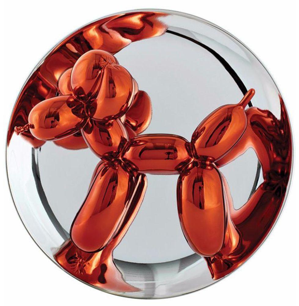 Céramique Koons - Balloon Dog (Orange)