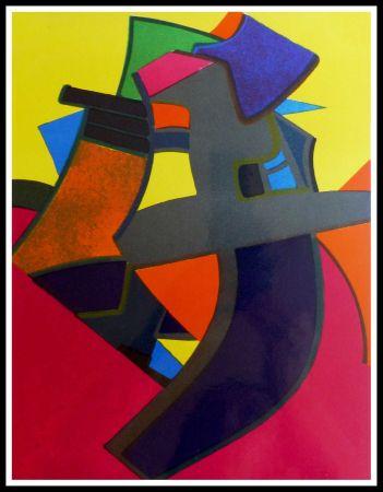 Lithographie Esteve - BALMOURE