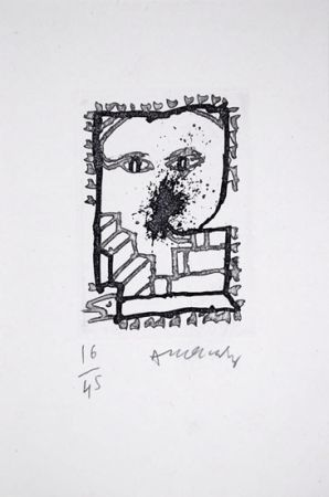 Livre Illustré Alechinsky - Baluchon et ricochets - nrf