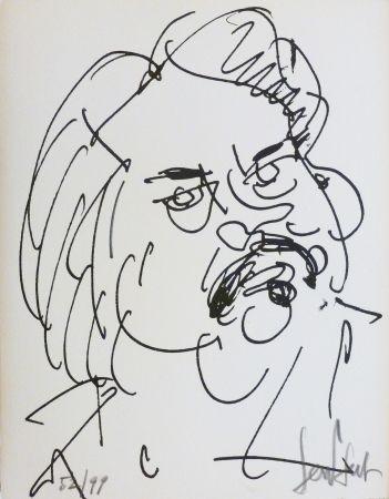 Lithographie Paul  - Balzac