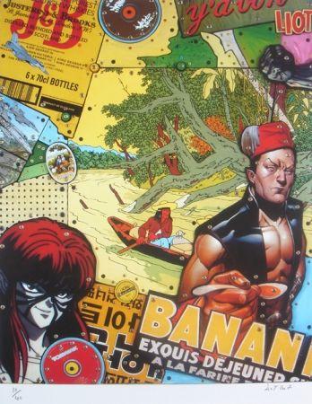 Lithographie Liot - Banana