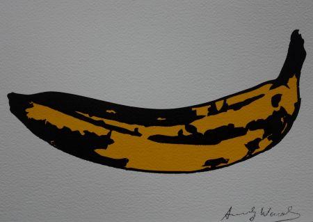 Sérigraphie Warhol (After) - Banana