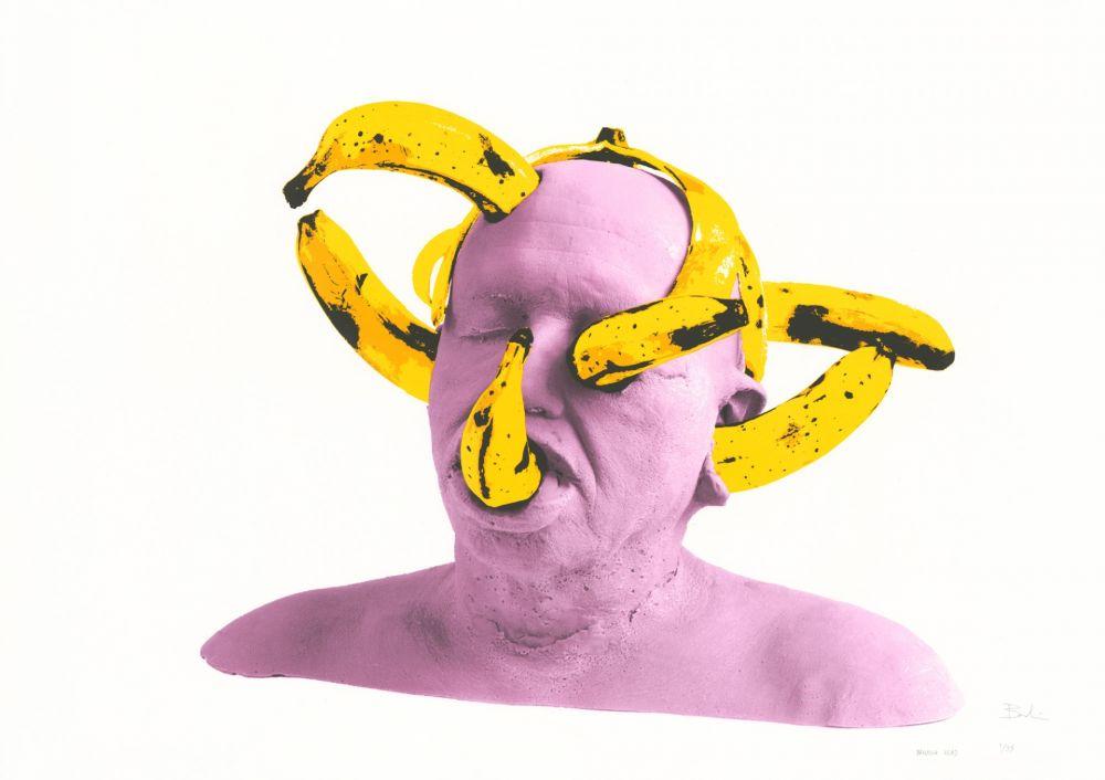 Sérigraphie Barbier - Banana Head