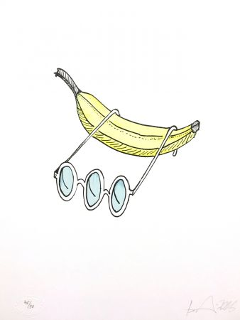 Lithographie Nørgard - Banane
