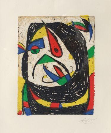 Gravure Miró - Barb IV