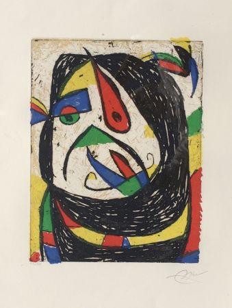 Gravure Miró - Barb IV (D. 1224)