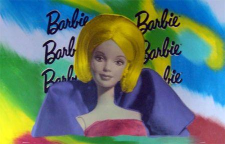 Sérigraphie Kaufman - Barbie I