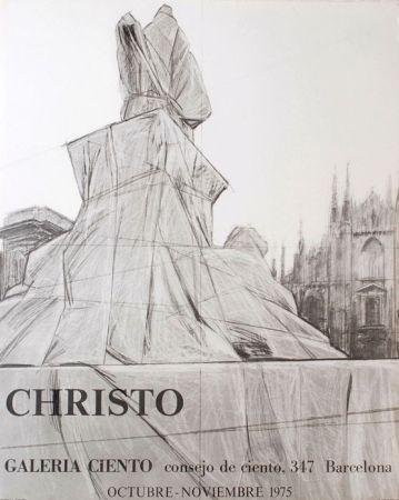 Affiche Christo - '' Barcelona ''