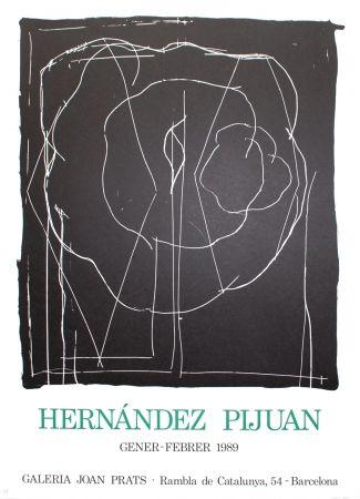 Lithographie Hernandez Pijuan - Barcelona-IV