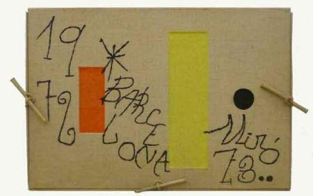 Gravure Miró - Barcelona 1972-1973