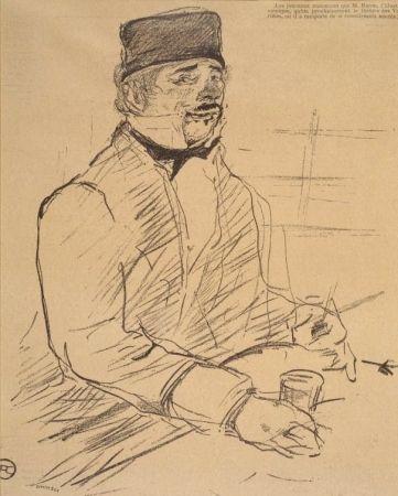 Lithographie Toulouse-Lautrec - Baron - Le Rire