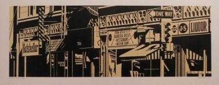 Linogravure Cottingham - Barrera-Rosa's