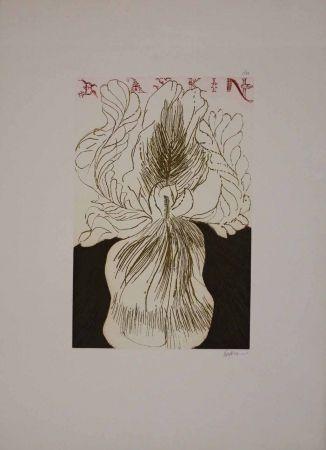 Eau-Forte Et Aquatinte Baskin - Baskin's Iris