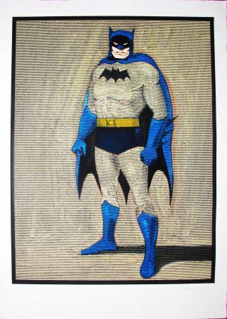 Gravure Sur Bois Ramos - Batman