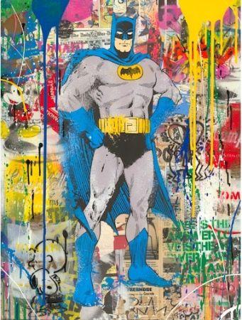 Sérigraphie Mr Brainwash - Batman, 2019
