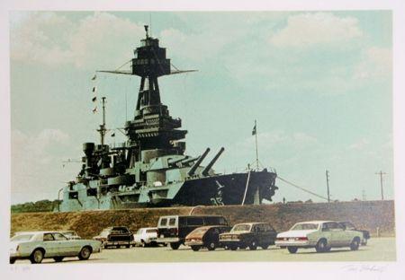 Sérigraphie Blackwell - Battleship Texas