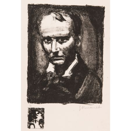 Lithographie Rouault - Baudelaire