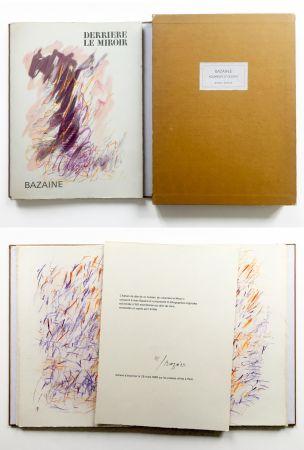 Livre Illustré Bazaine - BAZAINE AQUARELLES ET DESSINS. Derrière le miroir, n° 170. 1968. TIRAGE DE LUXE SIGNÉ.