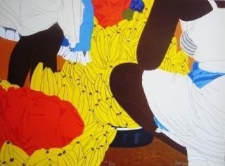 Lithographie Hoyos - Bazurto