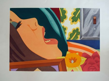 Aquatinte Wesselmann - Bedroom face