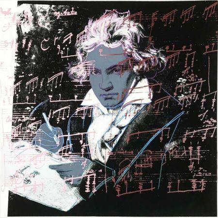 Sérigraphie Warhol - Beethoven 391