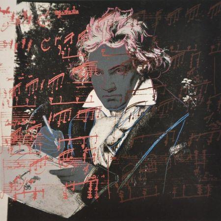 Sérigraphie Warhol - Beethoven (FS II.391)