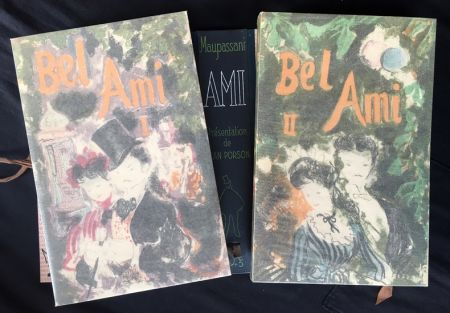 Livre Illustré Grau Sala - BEL-AMI. Lithographies originales de Grau-Sala