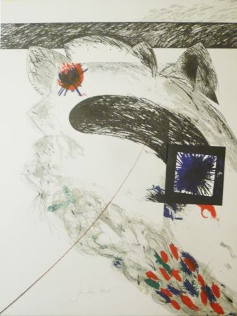 Lithographie Duran Benet - BELIZE 1