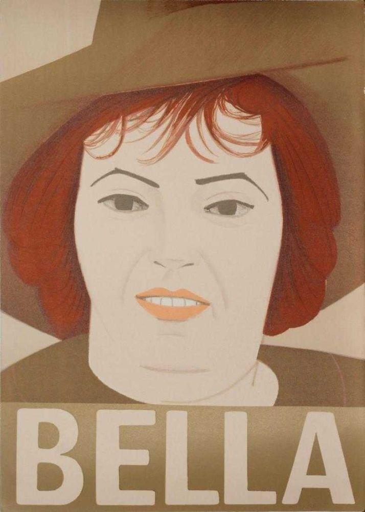 Lithographie Katz - Bella