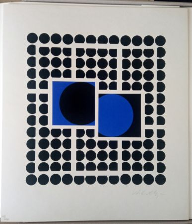 Sérigraphie Vasarely - Bellatrix
