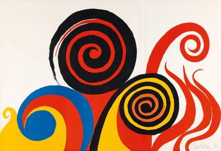 Lithographie Calder - Berkeley