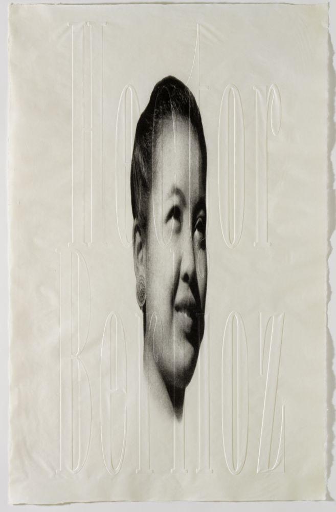 Lithographie Plensa - Berlioz