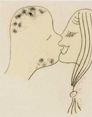 Lithographie Dokoupil - Beso