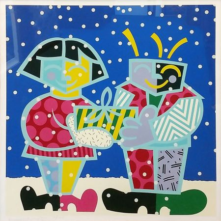 Sérigraphie Britto - BEST BUDDIES