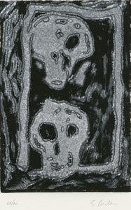 Linogravure Bertelli - Bestiario gotico