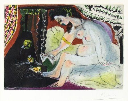 Aquatinte Picasso - Bethsabee