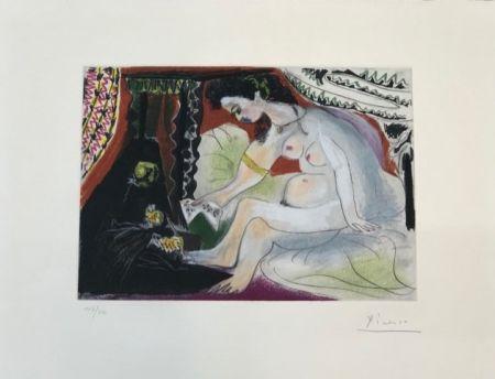 Eau-Forte Et Aquatinte Picasso - Betsabée