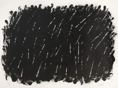 Lithographie Uecker - Bewegung