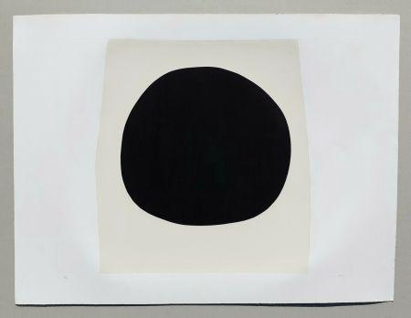 Lithographie Burri - Bianchi e neri I - Tavola F