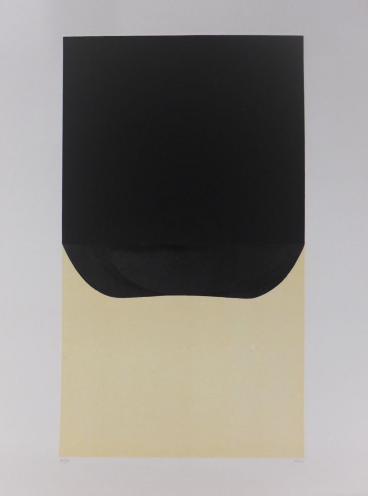 Lithographie Burri - Bianchi e Neri II-D